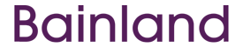 Purple Bainland Logo