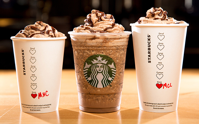 Starbucks hot tub holidays