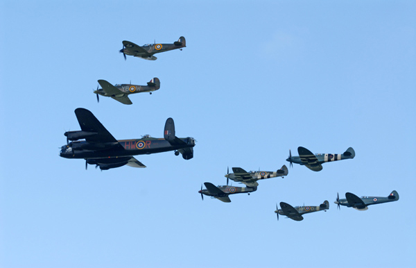 BBMF at bainland lodge park