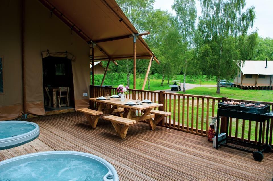 The Big Beasts Safari Tents Bainland Lodge Park